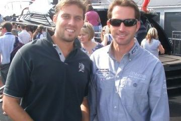 Ben Ainslie-vel, háromszoros olimpiai bajnok vitorlázó legendával
