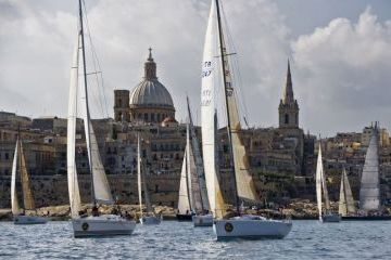 Rolex Middle Sea Verseny rajt